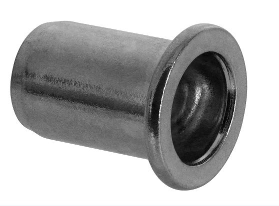 Apex Rivet Nut Steel Large Flange Sealed M6x9.0x21.5mm NSLM6CE-HP 100 Pack