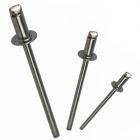 """Apex Rivet Aluminium / Aluminium 1/8"""" (2.4mm) AA-4 Dome Head Rivet"""