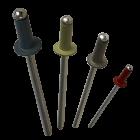 "Apex Rivet Aluminium / Steel Coloured 1/8""(3.2mm) x 7.0mm AS-4-2 Dome Head Rivet"