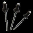 "Apex Rivet Aluminium / Steel Coloured 1/8""(3.2mm) x 19.7mm AS-4-10 Dome Head Rivet"