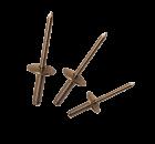 "Apex Rivet Aluminium/Steel Sealed 3/16"" (4.8mm) ASL-6"