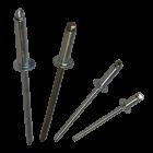 """Apex Rivet All Steel 1/8"""" (3.2mm) Dome Head Rivet SS-4"""