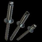 """Apex Rivet All Steel 1/4"""" (6.4mm) Dome Head Rivet SS-8"""